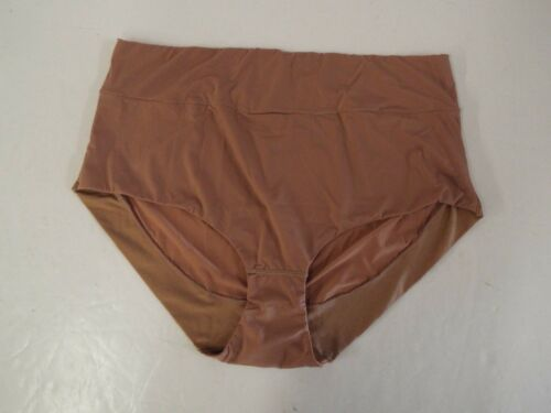 Rhonda Shear Lightweight Smoothing Brief-Nude-Large-New