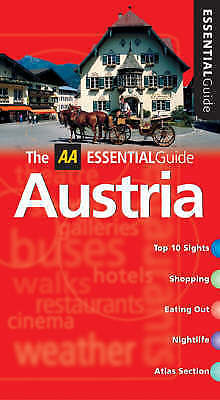 AA Essential Austria (AA Essential Guide), , Very Good Book
