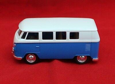 Autos & Lkw Dynamisch **vw Bus T 1**neu Und Ungebraucht**spielzeugauto**blau/weiß Blechspielzeug