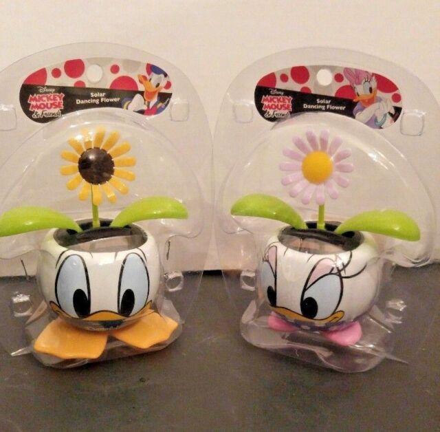 Disney Daisy Duck \u0026 Donald Duck Flower Pots w/ Solar Powered Dancing FlowersNIP for sale online & Disney Daisy Duck \u0026 Donald Duck Flower Pots w/ Solar Powered Dancing ...
