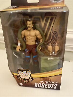 WWE MATTEL ELITE Legends Series 8 *CHASE* Jake The Snake Roberts MOC IN HAND