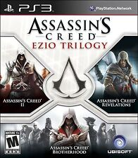 Assassin's Creed Ezio Trilogy  Playstation 3 PS3 Brand New Sealed