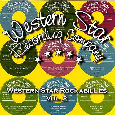 WESTERN STAR ROCKABILLY VOL 2 NEW CD JACK RABBIT SLIM,BLUE J's HEARTBEATS + MORE
