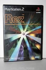 REZ GIOCO USATO OTTIMO STATO SONY PS2 EDIZIONE GIAPPONESE JAP DVD PRIMA STAMPA
