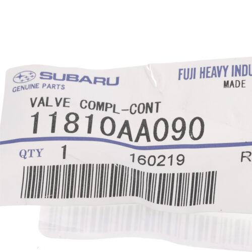2010-2012 Subaru PCV Valve Legacy /& Outback 2.5L OEM NEW 11810AA090