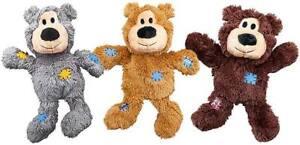 Kong nudos Perro Cachorro Juguete Suave Felpa Juguetes chirriantes perros con interior de cuerda anudada