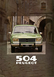 Brochure-PEUGEOT-504-BREAK-GR-catalogue-concession