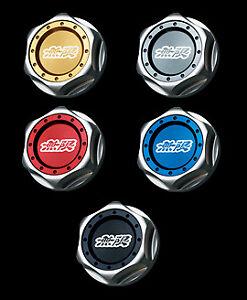 For CR-Z ZF2 15610-XG8-K2S0-BL BLACK MUGEN Hexagon Oil Filler Cap