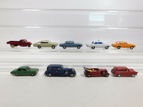 CK980-0,5 #9x wiking H0/1:87 Modello: Horch   Audi   VW   Opel Etc, Luce Dipinto