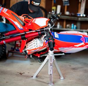 Lay-Over-Bike-Stand-Motocross-Dirt-Bike-Washing-Tool-Yamaha-Suzuki-Honda-KTM