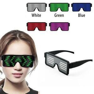 Leuchtende-LED-Lichtglaeser-blinkende-wiederaufladbare-Brillen-Glow-Supply