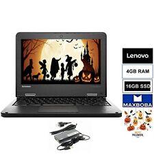 """LENOVO CHROMEBOOK ThinkPad 11.6"""" 11e 20DU 4 GB RAM 16 GB SSD Intel HD Grap BLACK"""