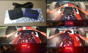 Dettagli su Dashboard dash board led racing simulatore SIM Display