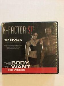 x factor stweider 12 dvd set 8week training workout