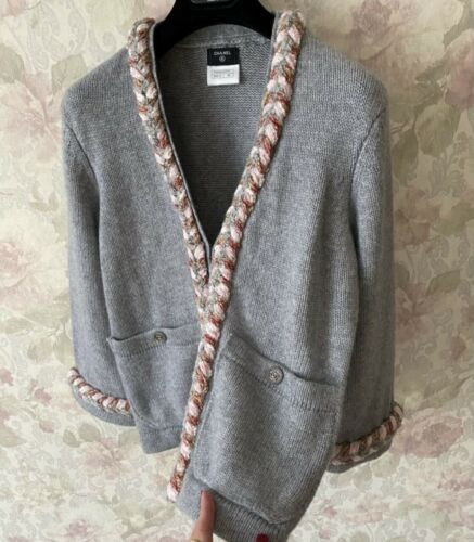 Authentic Chanel Cashmere Sweater