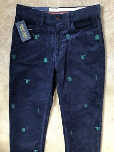 Ralph-Lauren-Polo-Blue-F-CLASSICS-Kord-Chinos-Hose-Hosen-30-034-NEW-tags