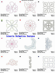 LD MACHINE EMBROIDERY DESIGNS QUILTING LINES V.8