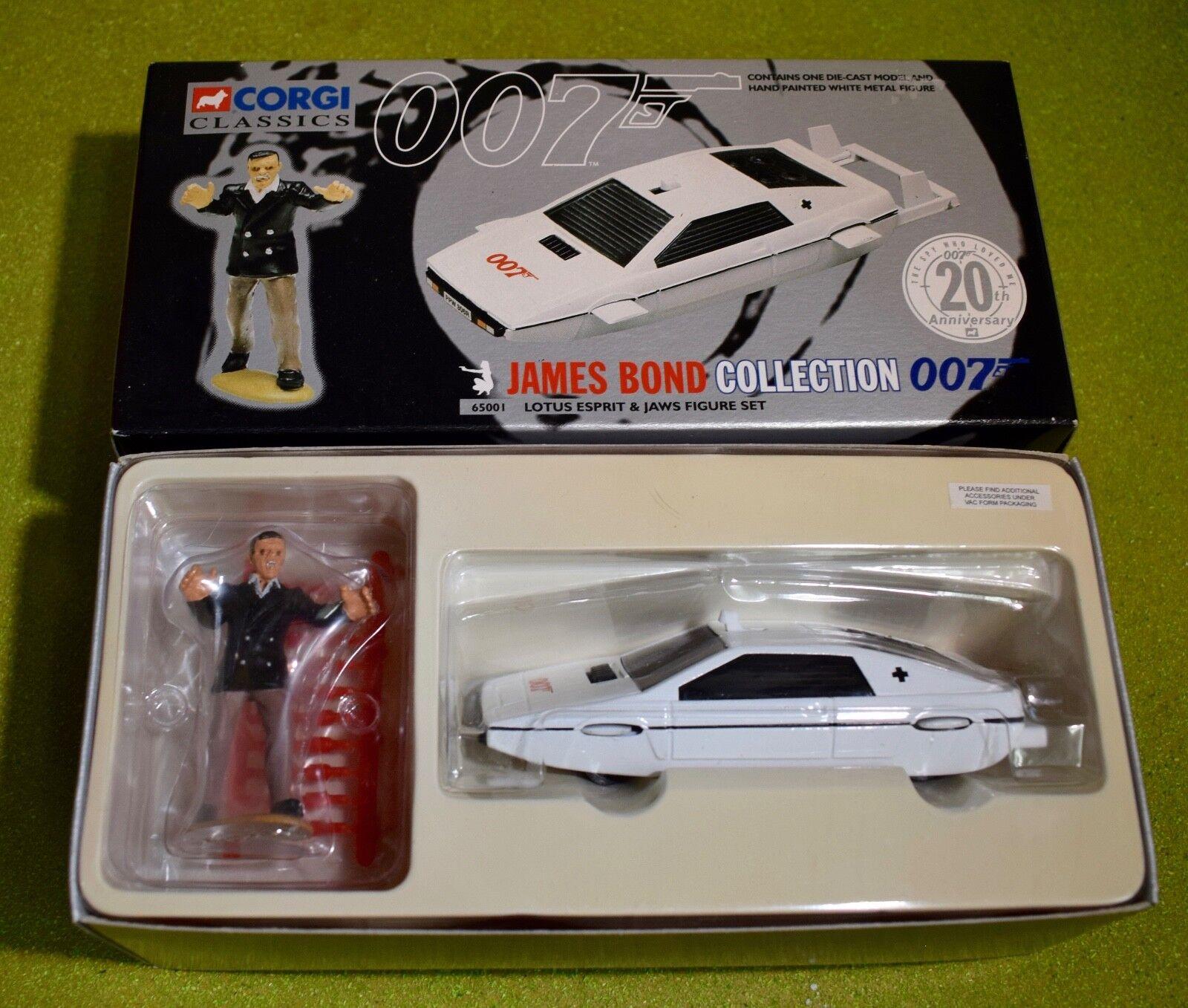 CORGI JAMES BOND 007 LOTUS ESPRIT & JAWS FIGURE SET 65001