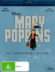 Mary-Poppins-50th-Anniversary-Edition-Julie-Andrews-New-Sealed-Blu-ray