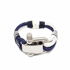 White-Blue-Sailing-Rope-Bracelet-Mens-Womens-Handmade-Nautical-Bracelet