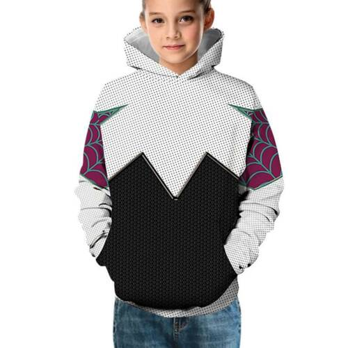 Kids Boys Marvel Avengers 3D Print Hoodie Hooded Sweatshirt Hallowen Costumes