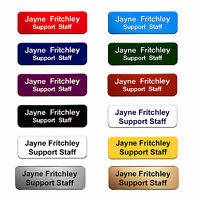 Staff ID Name Badges / Tags Corporate Personalised Named Badges / ID Tags