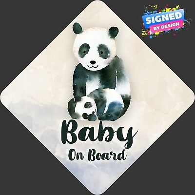 TED TWIN GIRLS non personalised novelty baby on board car sign