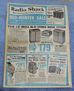 VINTAGE-1959-RADIO-SHACK-MID-WINTER-SALE-SALE-FLYER-CATALOG