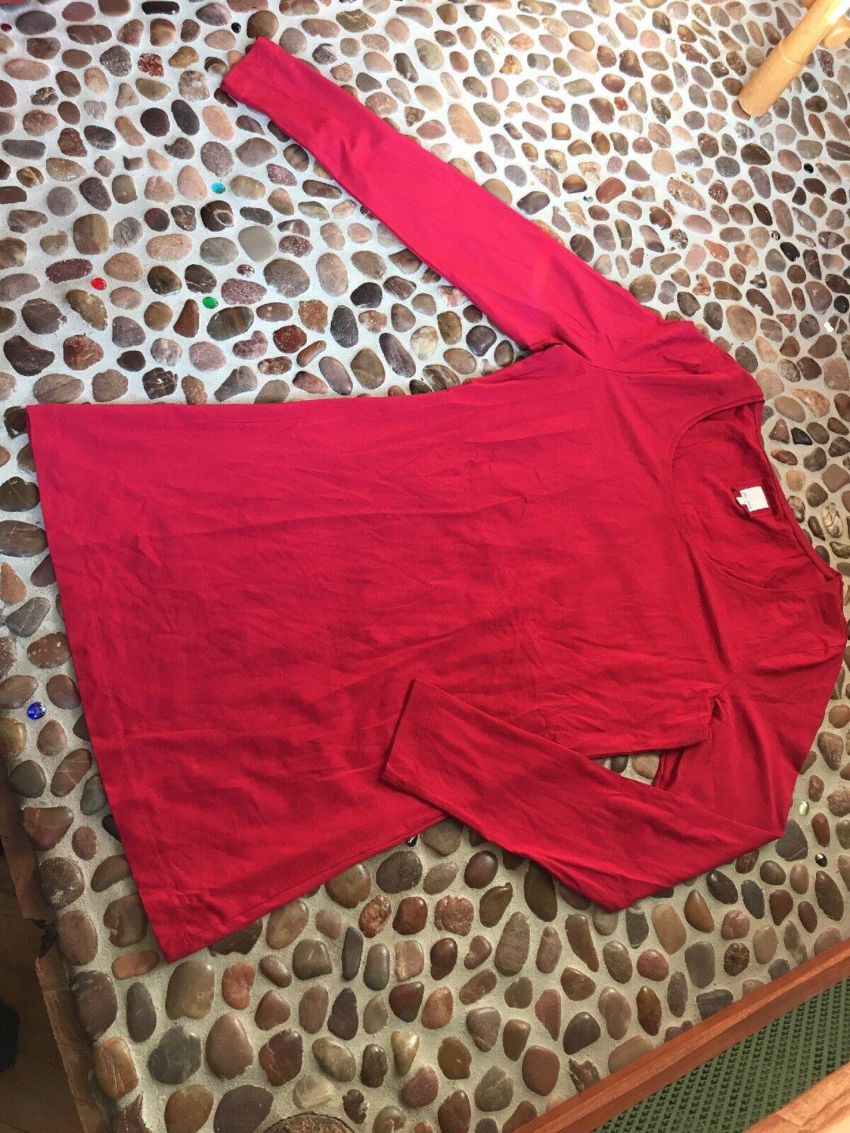 Deerberg L Langes Shirt Rot 80cm BW
