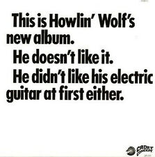 HOWLIN' WOLF THIS IS HOWLIN' WOLF'S NEW ALBUM CADET RECORDS LP VINYL NEUF