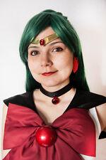 Sailor Moon MARS/PLUTO Tiara Smooth Red Gem
