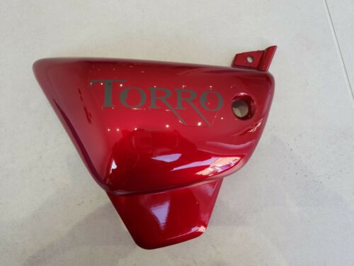 PIONEER NEVADA//TORRO 125 LEFT HAND SIDE PANEL RED NEW WITH TORRO DECAL