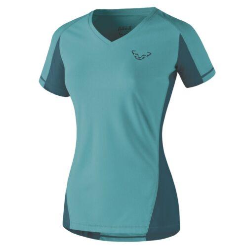New DYNAFIT Enduro Vert Femme MEDIUM S//S Tee Randonnée Running T Shirt PDSF $65