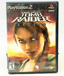 Lara Croft: Tomb Raider -- Legend (Sony PlayStation 2, PS2 2006) NO MANUAL