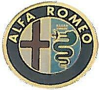 Set 4 Coprimozzi Coppette Borchie Cerchi In Lega Alfa Romeo 60 mm