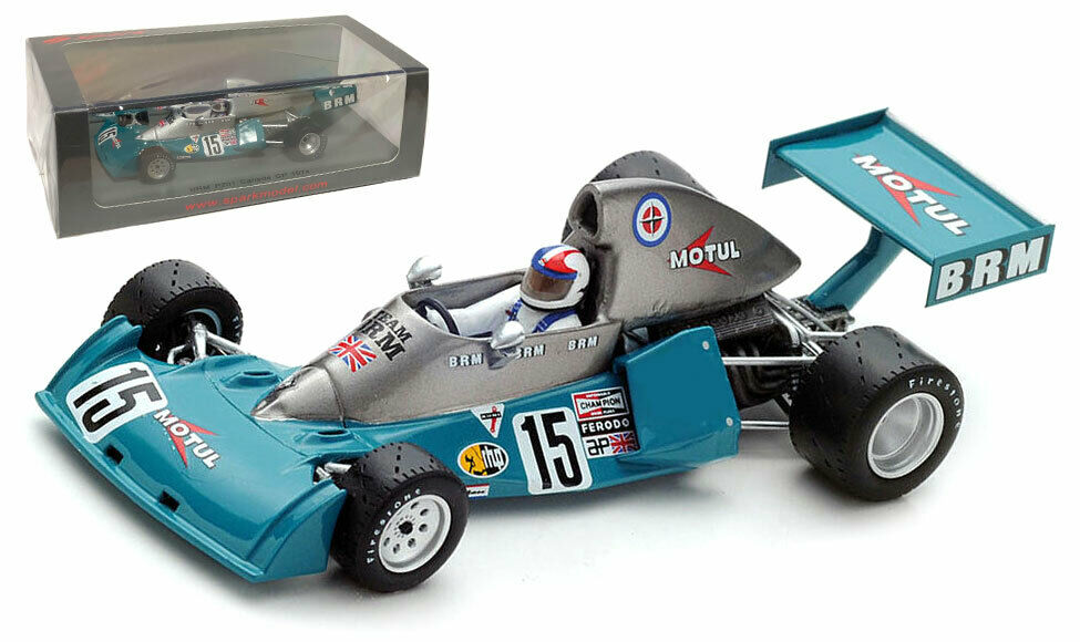 Spark S4797 BRM P201 Canadian GP 1974 - Chris Amon 1 43 Scale