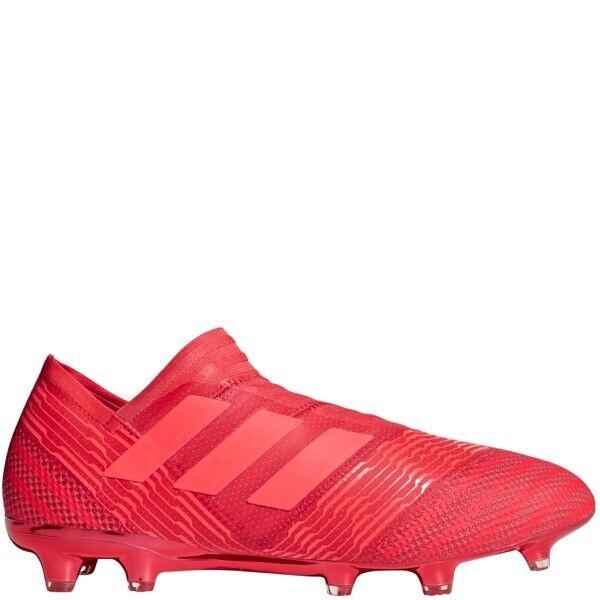 Nuevas Adidas nemeziz 17+ FG para Hombre Fútbol, Real Coral Rojo ZEST CM7731 Talla 13