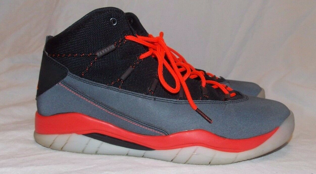 Nike Air Air Air Jordan Prime Flight Basketball shoes sz 10 M Black Infrared 616846-023 0e88b2