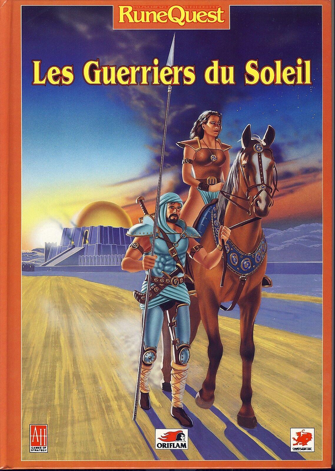RUNEQUEST - Les guerriers du du du Soleil (Oriflam) 1358ed