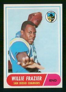WILLIE FRAZIER 1968 TOPPS 68 NO 11 EX  37078
