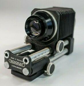 Novoflex-Automatic-Extension-Bellows-with-Emitar-4-76-PZ0-30539-Lens