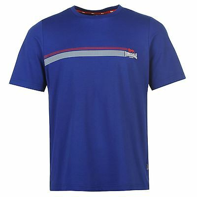 T-Shirt Homme LONSDALE (Du S au XXL) (Taille Grand) Neuf