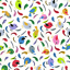 Telas-de-policotton-Tela-flamencos-Unicornios-Ladybirds-Perro-Gato-Conejo-Panda-pajaro-de-animales miniatura 10