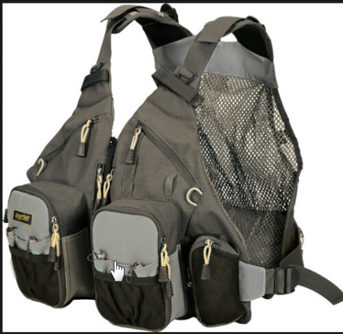 lure fishing luggage GUIDEMASTER PRO TECH PACK VEST fully adjustable