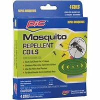 Pic C412 Mosquito Repellent Coils (12 Packs Of 4), New, Free Shipping on sale
