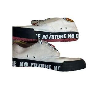 DR MARTENS X Sex Pistols Pressler No Future Canvas Shoes Women's Size 8