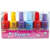 Pixy Stix Candy Scented Nail Polish, 6 Different Colors