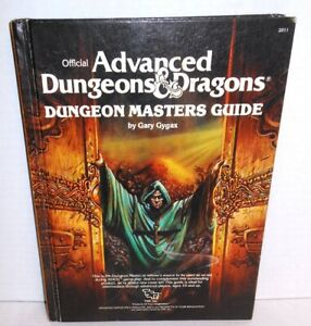 TSR-ROLE-PLAYING-Advanced-D-amp-D-Dungeons-Masters-Guide-Forward-dated-16-May-1979