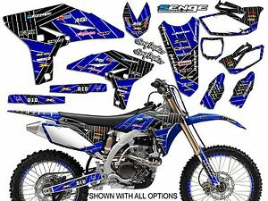2000 2001 2002 2003 2004 2005 2006 2007 TTR 125 GRAPHICS KIT YAMAHA TTR125 DECO