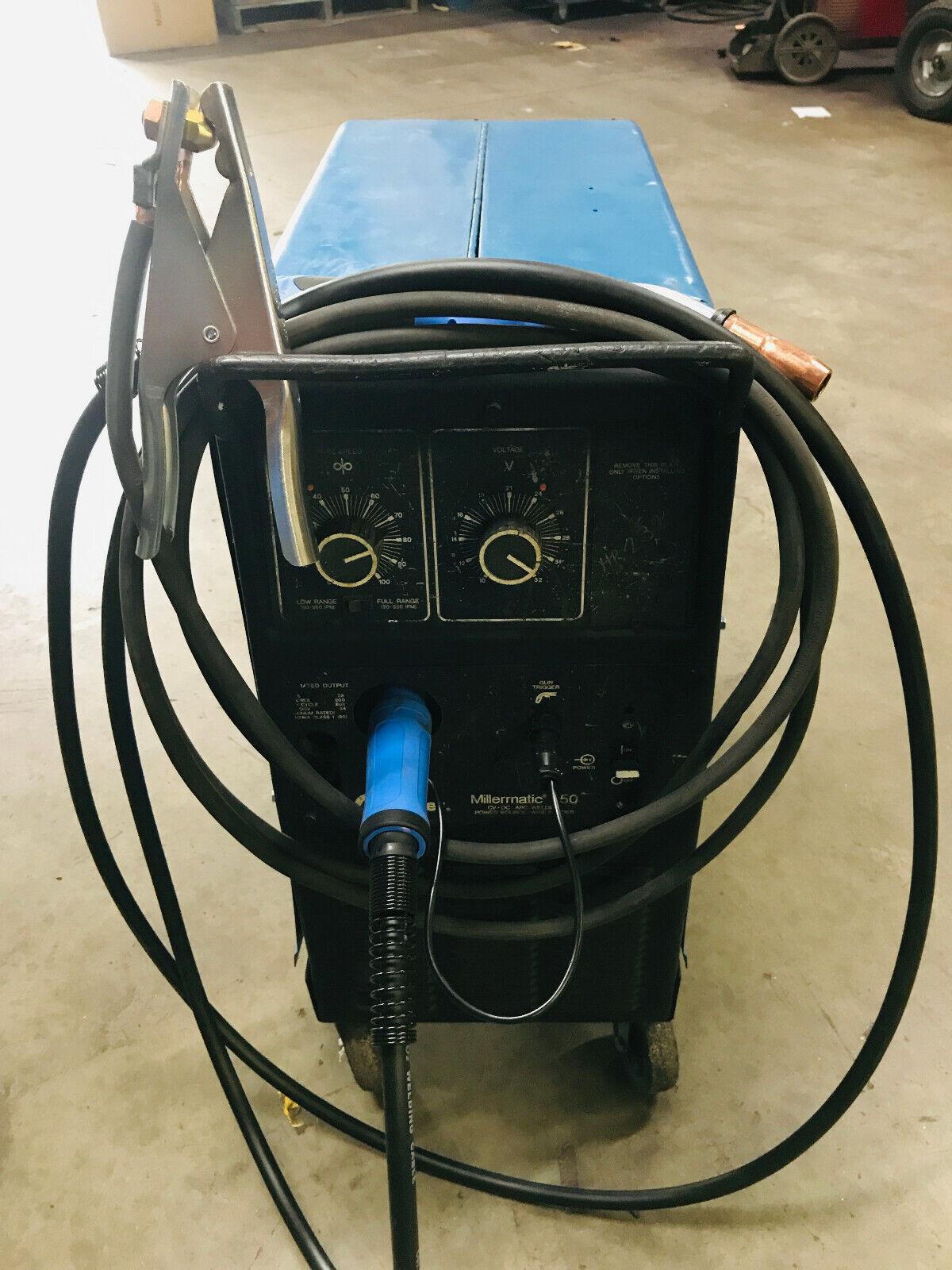 MILLER MILLERMATIC 250 MIG WELDER 240V. Available Now for 1595.00